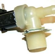 Клапан для стиральной машины. 2-90, два выхода, угол 90 градусов фото