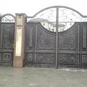 Ворота кованные А00908 фото