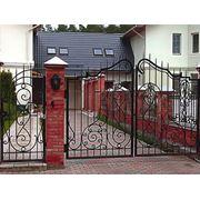 Ворота сварные фото