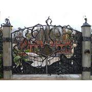 Ворота под старину в Кишиневе фото
