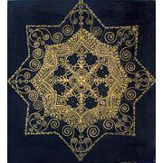 Картина созерцательная Снежинка-Звезда фото