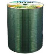Компакт диск CD-R 700мБ Mirex с полнозакрашенной поверхностью для струйной печати в упаковке 100 шт. фото