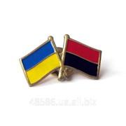 Значок Украина-УПА фото