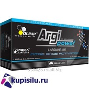 Аминокислота Argi Power Mega Caps 120 кап. 1500 мг. Olimp фото