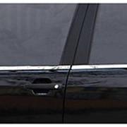 Молдинги боковых окон нерж. сталь 6 шт. BMW X5 2007-2012 фото