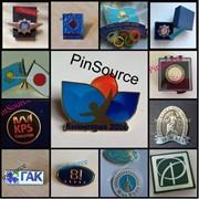 Значки корпоративные в Алматы, значок фото
