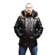 Пуховик мужской кожаный, продажа, консультация фото