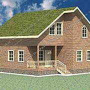 Проект Дом из проф.бруса №42 (10х9) фото