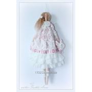 Кукла в стиле Тильда. Текстильная кукла ручной работы. фото