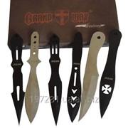 Набор метательных ножей Grand Way F006 (6 в 1) фото