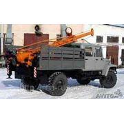 Бурильно-крановая машина (ямобур) БКМ-317 на ГАЗ-33081 5 мест фото