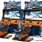 Симулятор гонок на снегоходах Sno Cross фото