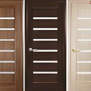 Дверь из бруса Новый стиль Линнея золотая фото