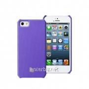 Чехол Jisoncase Fashion Wallet для iPhone 5/5S Purple (JS-IP5-01H50), код 52352 фото