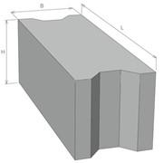 Фундаментные блоки ФСБИ фото
