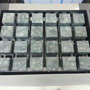 Комплект камней кубической формы из талькохлорида фото