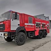Автоцистерна пожарная с лестницей АЦЛ типа 58600К и типа 58610К фото