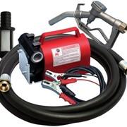 Насос для заправки топлива KIT BATTERIA 12В, 40 л/мин фото