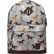 Городской рюкзак Bagland Молодежный 005336640 лошади фото