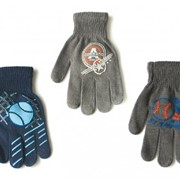 Перчатки акриловые для мальчиков R-012 фото