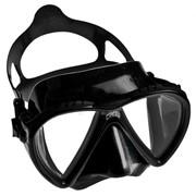 Lince Cressi sub маска с двумя иллюминаторами, Коробка, Чёрный фото