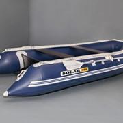 Надувная лодка Солар Максима-380 (синий) фото