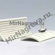 Керамические инфракрасные нагреватели LFTE 1500 Вт/230 В, 245*110*37 мм, провод 100 мм фото