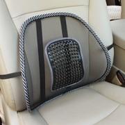 Ортопедическая спинка-подушка с горизонтальным массажером на сиденье 38x39 см фото