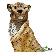 Фигура садовая Леопард фото