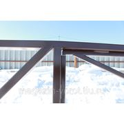 Откатные ворота 4000*2000 за 22100 фото