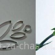 Каттер Гвоздика Цветок и лист, код 104 фото