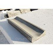 Лоток водоотводной бетонный фото
