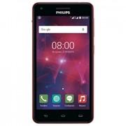 Мобильный телефон PHILIPS Xenium V377 Black Red (8712581737023) фото