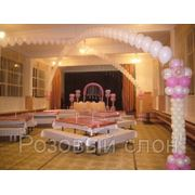 Оформление свадьбы воздушным шарами фото