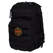 Рюкзак тактический RU 070 цв.Черный тк.Оксфорд 30л фото