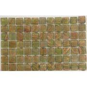 Мозайка стеклянная зеленая светлая фото