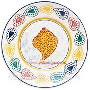 Тарелка винтажные сердце 24 см