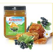 Мед с черноплодной рябиной фото