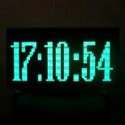 светодиодные электронные часы фото