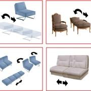 Разработки промобразцов трансформируемых диванов (кресел) фото