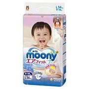 Подгузники Moony L (9-14 кг) 54 шт. фото