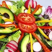 Нарезка Овощная (помидор, огурец, перец) (минимальная порция 450г) фото