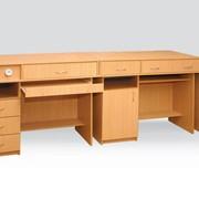Столы ученические лабораторные Код 0198 , Комплект столов демонстрационных для кабинета физики фото