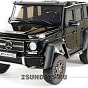 Двухместный электромобиль Mercedes-Benz G63 6x6 4WD ABL1801 черный краска фото