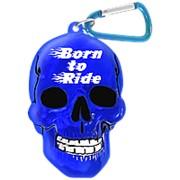 """Брелок для ключей в виде черепа """"Born To Ride"""" фото"""