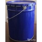 Металлическое ведро 20 литров с крышкой корона фото