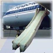 Трап надувной авиационный фото