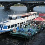 Прогулки на теплоходе от метро Днепр фото