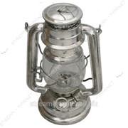 Лампа керосиновая маленькая крашеная (Летучая мышь 24, 5 см) №990650 фото