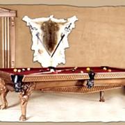 """Бильярдный стол / пул """"Pantero Leo"""" 9 ф (вишня) фото"""